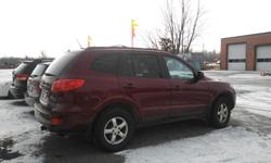 Make Hyundai Model Santa Fe Year 2009 Colour Burgundy kms 184329 Trans Automatic 613-822-7826 or 613-220-8023 - Beautiful, clean 2009 Hyundai Santa Fe GL, AWD. 3.3L V6 Fully loaded with heated seats, cruise control, P/W, P/L, Keyless entry. 184,400kms,