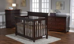 TORINO FOREVER CRIB + DOULE DRESSER IN WITHE OR MOCACCHINO COLOR, REG. PRICE $ 1099,00+TAX PIC. 1 & 2 ON SALE $ 899.00+TAX GALA FOREVER CRIB + DOUBLE DRESSER IN WITHE OR MOCACCHINO COLOR, REG. PRICE $ 1099,00+TAX PIC.3 ON SALE $ 979.00+TAX LUCCA FOREVER