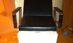 Black chairs and portable hair dryer. This ad was posted with the Kijiji Classifieds app.