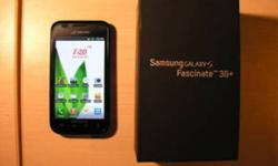 hi im selling my very good condition,samsang galaxy fascinate 3g,with box n all things, it,s unlocked and working with all major companies.....call or text 416 8393089