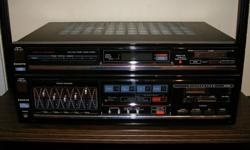 Vintage 1980s Sanyo DCX685 AM/FM Stereo receiver for sale. Works great, clean, heavy, very powerful. Made in Japan. I also have the cassette deck I will give you if you want it. $20. Aylmer, Quebec.
