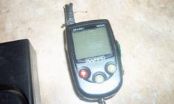 I have a used Scorpio alarm that came off a 2005 CBR 1000 that I no longer have. The remote is missing the battery cover and the previous owner put duct tape over the antenna. Pager and alarm work perfect and the sensitiviy can be adjusted. Make the