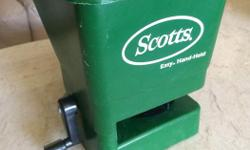 Scotts Fertilizer Spreader Easy Hand-Held In like new condition $10