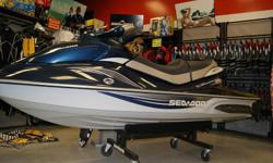 Wide Angle Mirrors, Touring Seat, Finger Throttle Operation, VTS (Variable Trim System), Fold Down Reboarding Step, Learning Key, Seats 3 People, Fuel Injected, 4-stroke, Removeabe Storage. $11,500 taxes included. Can be viewed at Rec-Tech Power Products.