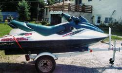 1997 Seadoo & trailer, 800cc. Asking $3000. Parry Sound (705) 746-2720 evenings.
