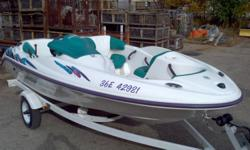 I am selling a SeaDoo Jet boat. The boat is in very good condition, and runs well.  Comes with a trailer, also in very good condition.   Priced for a quick fall sale.