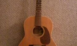 Nice Seagull Guitar with Case Has some scratches and dents on the top. New strings installed. $200 obo.
