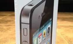 Selling Brand new Iphone 4s 16gb sealed never opened. i am also able to jailbeak it for you upon purchase.