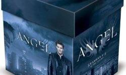 Angel: Seasons 1-5 DVD 30 Discs Seasons 1-5