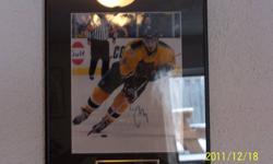 Framed Autographed 8 x 10 Serge Samsanov in Boston Bruins Uniform COA 140.00 or best offer e-mail