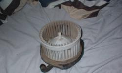 I am selling this heater blower fan because i thought it would fit in a 2000 grand am but it didnt so it still works perfectly if anyone is interested call me at 807-285-2677 or text me at 575-652-8233 or email me thanks.