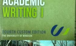 01-01-150 ISBN: 9780132888561 Author: Jackson Publisher: Pearson Edition: 4 Cover: Paperback Department: General Arts   selling FAW book for university of windsor in exellent condition e-mail me if interested. LBCH included of course (peer review guide is
