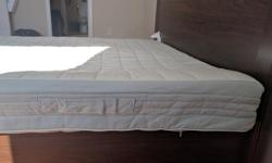 Selling our barely used Queen sized Ikea Brusali Bed frame along with Sultan Havberg Mattress. Both are extremely clean, barely used and in Mint condition. Purchased these early last year but as we are moving cities, we are letting them go. Pick Up only.