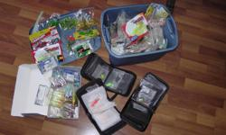 Selling soft lures,each package 4$-6$ No negotiation! price for jigheads; 2 for 1$. See my another ads!