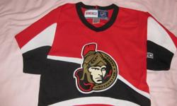 I have a size 2T-4T Senators Hockey Jersey for sale in like new condition with no pulls