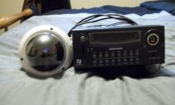 This is great for someone who travels or for someone who just likes to know who is coming and leaving your home. The DVR records all LIVE movements. The security camera has night vision and lots of other features. (B/W, Color, Auto) asking $400.00 /