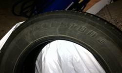 These tires have 22K on them and are off my 2010 crv.   Excellent condition