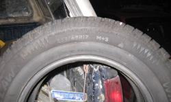 Set of 4 Artic Claw Tires Great for Dodge Journey. Very Low use. Sell only as a set $400.00 Paid 220 each Call Jim 403-969-6543