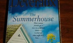 I have four novels for sale.  Nothing beats curling up with a good book and a warm beverage on a cold winters night, so stock up now!   Authors/Titles are:   Jude Deveraux - The Summerhouse Danielle Steel - Jewels Stef Ann Holm - Girls Night Judith