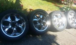Good condition Tires and Mags for a Escalade 22 inch