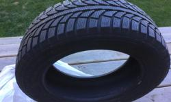 Four GT Radial Champiro Ice Studdable winter tires in good condition. There is 75% of the tread left. The phone number is a landline so texting doesn't work, please phone.