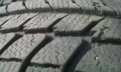 Really Nice Set of four Michelin X-ice Winter Tires Size 205-60-15 With 70% Tread and absolutly No Plugs or Patches etc. Must Be Seen, Just $120.00 For the entire set, call or text -705-970-1686
