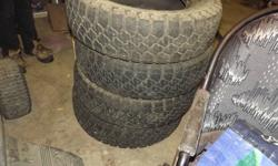 4 good tires $100 Call Mike 705-685-7559 225/75/16