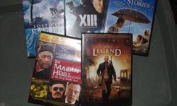 I have lots of DVD's for sale get 5 for $15.00