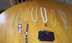 I have the items pictured all for sale( for the entire lot) for $20.00.  The watches require batteries..
