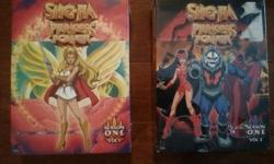 She-Ra: Princess of Power the original cartoon. Complete season one on DVD in two box sets - never opened and still in sealed packaging. Purchased at Christmas. $10 or will trade for a 2-cup glass measuring cup.