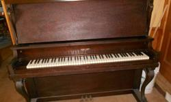 UPRIGHT PIANO 19th. century piano must sell;no room. Asking $250. or best offer.