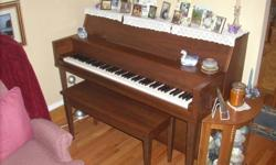 SHERLOCK MANNING PIANO--Excellent condition! Well-maintained.  TUNED & SERVICED ANNUALLY (Joe Tompkins of Piano Wise Inc. just did us again YESTERDAY 22 September)PORT AU PORT  (709) 648-2255    $1999 or Best Offer!