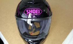 Shoei Qwest Sonoma helmet in excellent condition - exterior and interior. Women's, Size Small. Bought less than a year ago for $550 and used only a few times last season. Asking $250. Contact 613-883-3533.