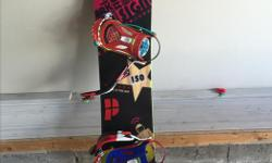 Selling my 150cm Signal Park with Ride Bindings. Amazing board that has treated me well, but have too many in the collection! Minor scratches, no deep ones that would effect the integrity of the board. Amazing on all terrain, not just the park as the name