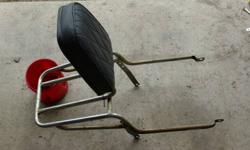 2 sissy bars, fair condition, some chrome pitting and minor rust.  $25 each or OBO