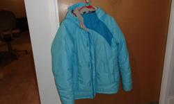 Mountain Equipment Coop size 14 winter jacket - in excellent shape as it was hardly worn. Polyester fill