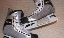 For Sale: CCM `48` skates. E bladeholders -Proformance blades Like new condition.Stiff boot,Lots of blade Clean-no rips,stains-no odours Great condition..Size 9.... $30..