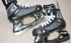 For Sale: Torspo (Finland) kids hockey skates. Stiff boot,very light material. Chrome look blade holders.Detach steel blades. Mint condition. Size4D or 36D euro Very well made skates...$30....Firm :>)