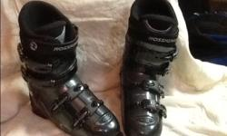 Rossignol salto ski boots 4 buckal micro adjustment size 28-28.5. Great shape only a couple of marks.