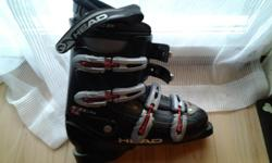 "Men's size 8 ski boots ""Head"" brand. Used for only a few runs. Like new condition."