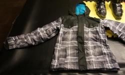 Firefly ski jacket approx. for age 12 in perfect condition.