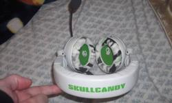 Title says it. Selling a skullcandy headset W-Mic can be used with with Xbox 360 and for PC gaming as well. Price is $45 O.B.O, please call me if you are serious. 285-6792   John no calls past 12 midnight or before 9am