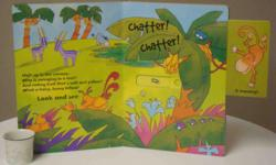 Baby to Preschool. Children are given riddles about different animals they may find in the jungle, then slide windows to reveal the answers. Excellent condition.