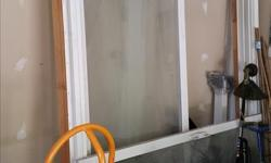 Jeld-Wen sliding patio door, 71x91 in, new, just a little dusty as stored in garage. Pick up only. Cash only.