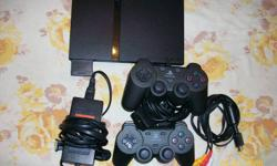 Hello, i have a PS2 slim for sale with 24 games.  The system and games all work and 2 controllers and an 8mb ps2 memory Card are also included.  I have provided a list of the games below. All the games are in their original boxes and come with manuals