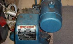 Small inboard Boat engine stored for the past 10 years. Good condition with clutch transmission. Telephone 1 250 459-7792