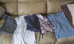 3 Girls SUMMER tops (2 XS - 1 small) 2 tshirts (XS) Get ALL 5 for ONLY $15 (works out to be $3 per item) AWESOME Can meet in west end of ottawa (kanata) or pickup in Constance Bay