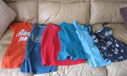 Summer Lot of Girls AEROPOSTALE clothing Includes: 3 tshirts 2 sleeveless tops 1 tank top (small) Get all 6 for only $15 (works out to be $2.50 per item Can meet in west end of ottawa (kanata) or pickup in Constance Bay