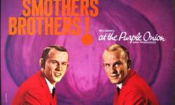 Eight of them...all on Mercury Records: At The Purple Onion The Two Sides Of The Smothers Brothers (Think Ethnic!) Curb Your Tongue, Knave! It Must Have been Something I Said Tour De Farce Aesop's Fables Mom Always Liked You Best! $5.00 in total.