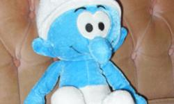 cute and cuddly smurf. new and great for gift giving asking $15 can be picked up in kemptville anytime, or at the bleeker mall in nepean on a mon, wed, or fri morning